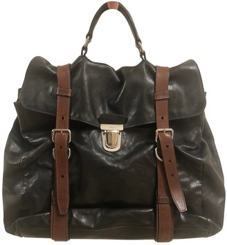 Prada Black Leather Bags