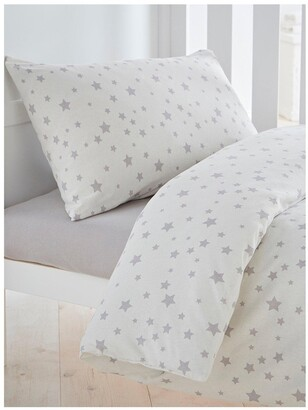 Silentnight Printed Stars Cot Bed Duvet Cover