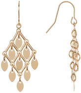 Candela 14K Yellow Gold Multi Disc Dangle Earrings