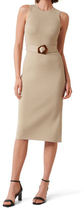 Forever New Imogen Sleeveless Midi Knit Dress