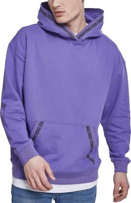 Urban Classics Men's Oversize Logo Hoodie Hooded Sweatshirt