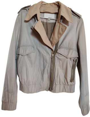 3.1 Phillip Lim Beige Leather Leather Jacket for Women
