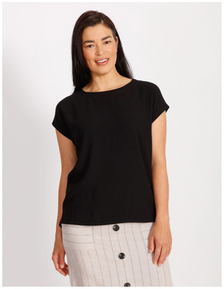 Regatta Etched Short Sleeve Dropped Shoulder Boxy Top