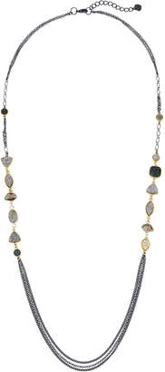 "Nakamol Long Multi-Chain Side-Bead Necklace, 36""L"