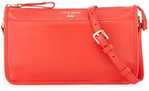 Cole Haan Beckett Colorblock Leather Crossbody Bag, Fiery Red