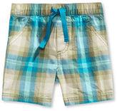First Impressions Fi Optic Plaid Shorts