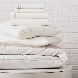west elm Hemp & Cotton Serene Stripes Starter Bedding Set
