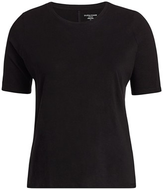 Eileen Fisher, Plus Size Roundneck T-Shirt