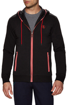 Bikkembergs Cotton Piped Hooded Sweater