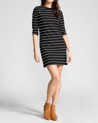 Express Bb Dakota Striped Shift Mini Dress