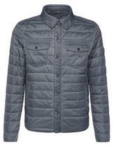 Hugo Boss Owilder-D Quilted Button Down Jacket 38R Blue
