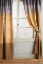 Anthropologie Dip-Dye Curtain