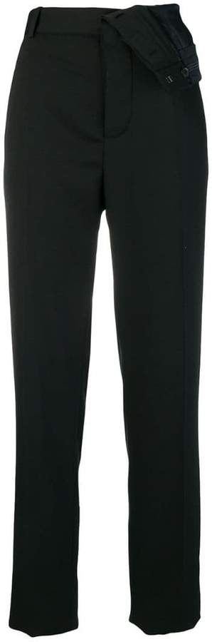 Y/Project turnover waistband tailored trousers