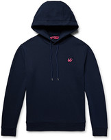 Mcq Alexander Mcqueen - Loopback Cotton-blend Jersey Hoodie