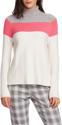 Court And Rowe Colorblock Turtleneck Sweater