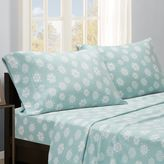 True North by Sleep Philosophy Snowflake Microfleece Sheet Set