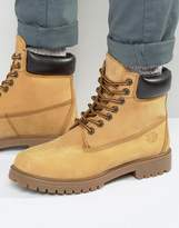 Red Tape Worker Boots Beige