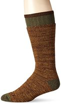 Dickies Men's 1 Pack Steel Toe Wool Space Dye Boot Crew Socks