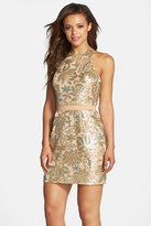 Dress the Population Scarlett Sequined Halter Dress