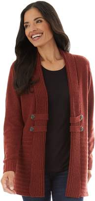 Apt. 9 Women's Button-Tab Cardigan