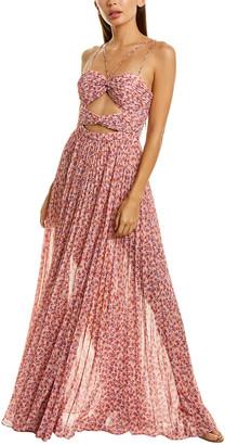 AMUR Lana Maxi Dress