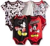 Disney Baby Baby-Boys Newborn Boy Mickey 5 Pack Creeper