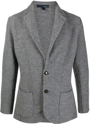 Lardini Knitted Tailored Blazer