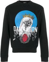 DSQUARED2 Damnation printed sweatshirt