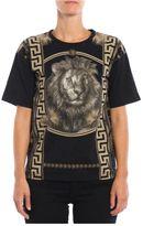 Versus T-shirt Print Greek Lion