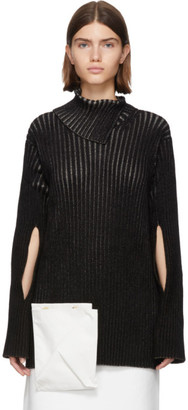 MONCLER GENIUS 2 Moncler 1952 Black Knit Turtleneck