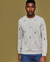 Ted Baker Embroidered sweatshirt