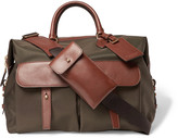 Ralph Lauren Purple Label - Leather-trimmed Canvas Holdall