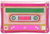 Manish Arora Cassette Tape Glittered Leather Pouch