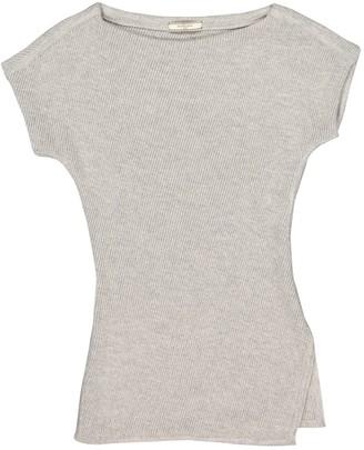 Bouchra Jarrar Grey Wool Knitwear