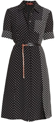 Altuzarra Kieran Polka Dot Shirtdress