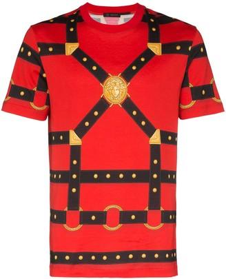 Versace Harness print T-shirt