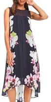 Wallis Women's Summer Orchid Handkerchief Hem Dress