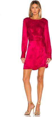 1 STATE Floral Jacquard Dress