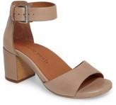 Gentle Souls Women's Christa Block Heel Sandal
