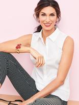 Talbots The Perfect Wrinkle-Resistant Popover Shirt