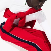 Lacoste Men's SPORT Colorblock Bands Fleece Sweatpants