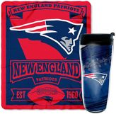 Northwest New England Patriots Mug N' Snug Throw & Tumbler Set by Northwest