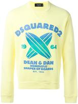 DSQUARED2 Shaper of Boards sweatshirt - men - Cotton - XS