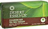 Desert Essence Bar Soap - Tea Tree Therapy - 5 oz - (Pack of 3)