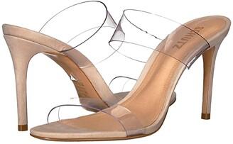 Schutz Ariella (Transparente Nubuck/Vinil) Women's Sandals