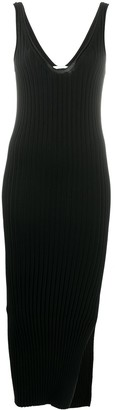 Helmut Lang Fitted Ribbed Dress