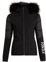 Fendi Fur-trim performance jacket