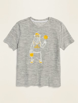 Old Navy Ultra-Soft Breathe ON Graphic Performance Tee for Boys