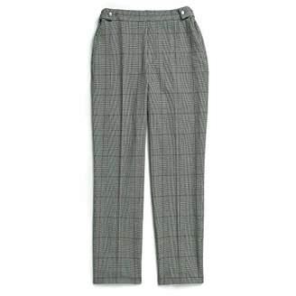 Tommy Hilfiger Women's Adaptive Plaid Pants with Adjustable Waist
