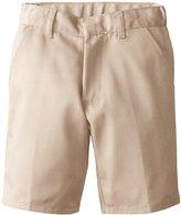 Genuine School Uniform Genuine Little Boys Double Pleated Twill Short